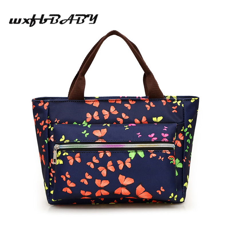 2018 new Oxford lunch bag fashion casual thermal bag for women kids or men insulated lunch box picnic bag food thermo or cooler