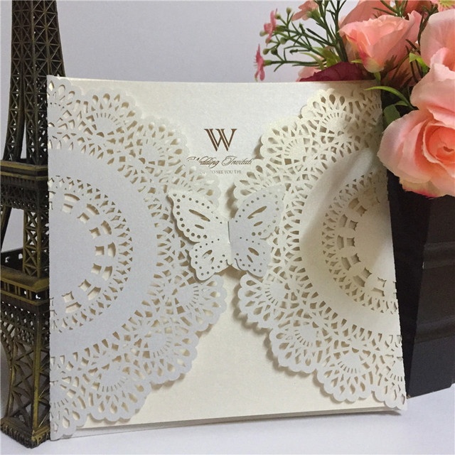 Customized Birthday Greeting CardWedding Invitation Card Wholesale Luxury Handmade Decoration Wedding Girl Design