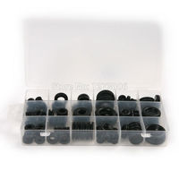 125Pcs Set Universal Car Metric Rubber O Rings Washer Seals Plastic Case Wear Resistant Car Stying