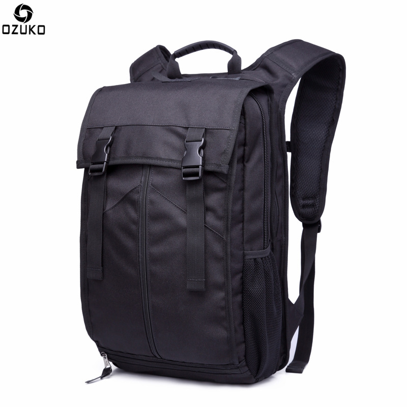 OZUKO Men Mochila Multifunction Travel Backpack Men High Capacity Travel School Bag 15 inch Laptop Backpacks Male Rucksack 2017 ozuko men canvas backpack vintage fashion rucksack large capacity travel mochila 15 inch laptop backpack srudent school bag