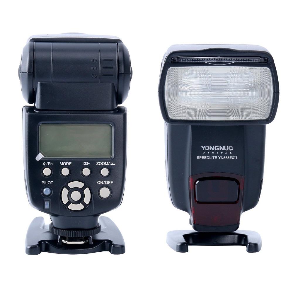 US $80 0 |Yongnuo YN 565EX II Wireless TTL Flash Speedlite For Canon 800D  760D 750D 700D 650D 600D 80D 70D 5D Mark IV/III/II 1300D 1200D-in Flashes