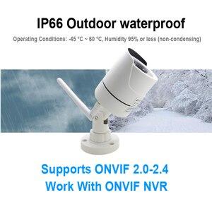 Image 3 - IP камера JIENUO беспроводная водонепроницаемая с поддержкой Wi Fi, 1080/960/720P