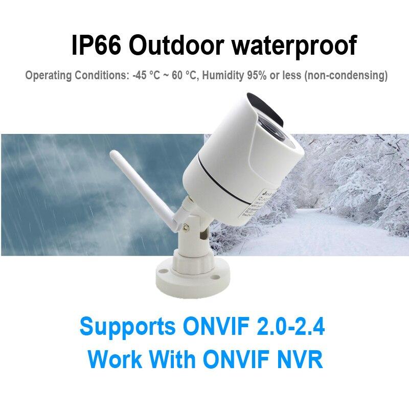 Image 3 - JIENUO WIFI Camera IP 1080P 960P 720P Audio Outdoor CCTV Security Home HD Surveillance Waterproof Wireless Infrared Home CamerasSurveillance Cameras   -