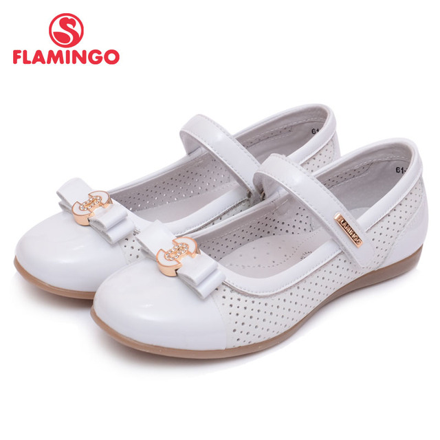 FLAMINGO 100% Russian Famous Brand 2016 New Arrival Spring & Autumn children Fashion High Quality Shoes 61-XT142/61-XT143