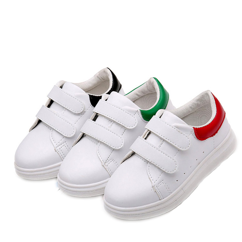2018 Spring Childrens Casual shoes For Girls Boys Kids Patchwork Breathble Sport Shoes Student Skate Shoe Size #25