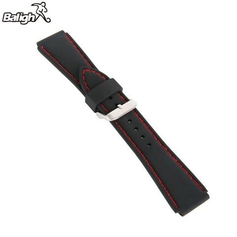 Newest Fashion Fashion Silicone  Watch Band Men Women Wristwatch Strap  18,20,22, 24mm Wrist Bracelet  Watches Accessories Karachi