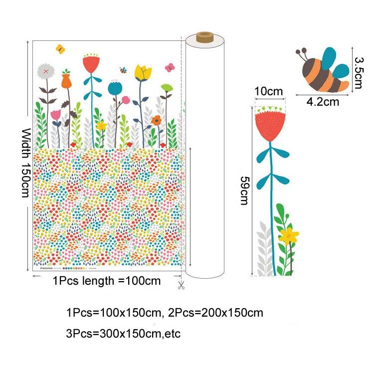 Hogar-textil Lino algodón tela Floral parche Metro imprimir telas Lino algodón sofá telas tejido colcha costura 100x140 cm. - 2