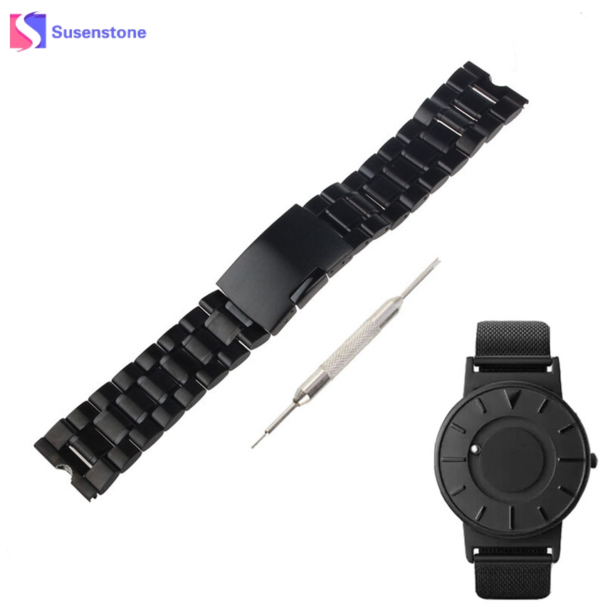 22mm Stainless Steel Watch Band Strap For Eone The Bradley Timepiece+Tool Wrist watchband осциллограф eone et201 2k 200khz