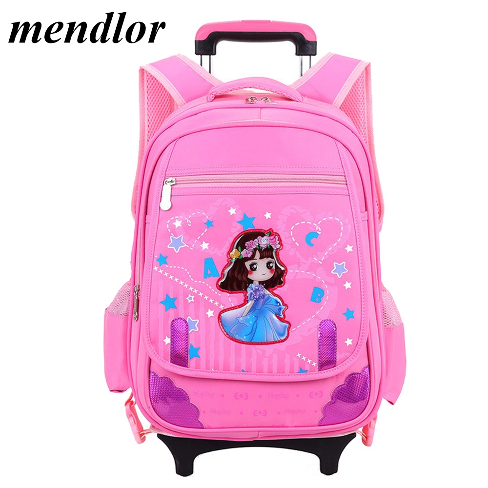 Hot Sales Lovely Removable Children School Bags with 2/6 Wheels Climb Stair Trolley Backpack Children Travel Luggage SuitcaseHot Sales Lovely Removable Children School Bags with 2/6 Wheels Climb Stair Trolley Backpack Children Travel Luggage Suitcase
