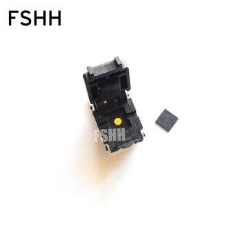 IC TEST Pitch=0.5mm Size=9x9mm DFN64 QFN64 MLF64 WSON64 ic test socket 64QN50S19090-D scoekt rt5390rl rt5390 qfn64