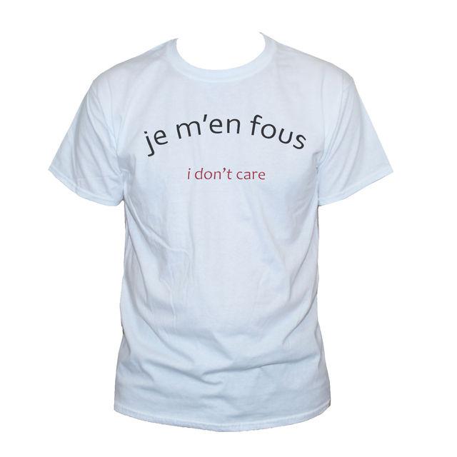 Acheter Je Me Fous I Dont Soins T Shirt Grunge
