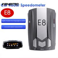 Vehemo E8 Car Radar Full Band Scanning Detector Universal Drive Safely Speed Control Detector Voice Alert