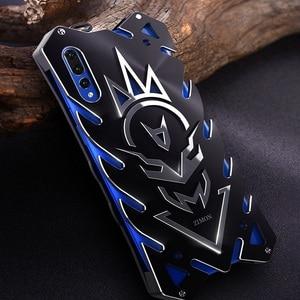 Image 1 - Мощный чехол для huawei P20 Lite сверхмощный винтовой металлический корпус для huawei P20 P20 Pro Zimon чехол для huawei P30 P30 Pro сверхмощный