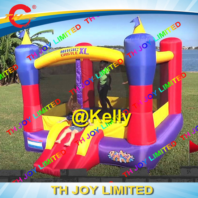 fcf858412 free door shipping 4x3m inflatable bouncer jumper for children ...