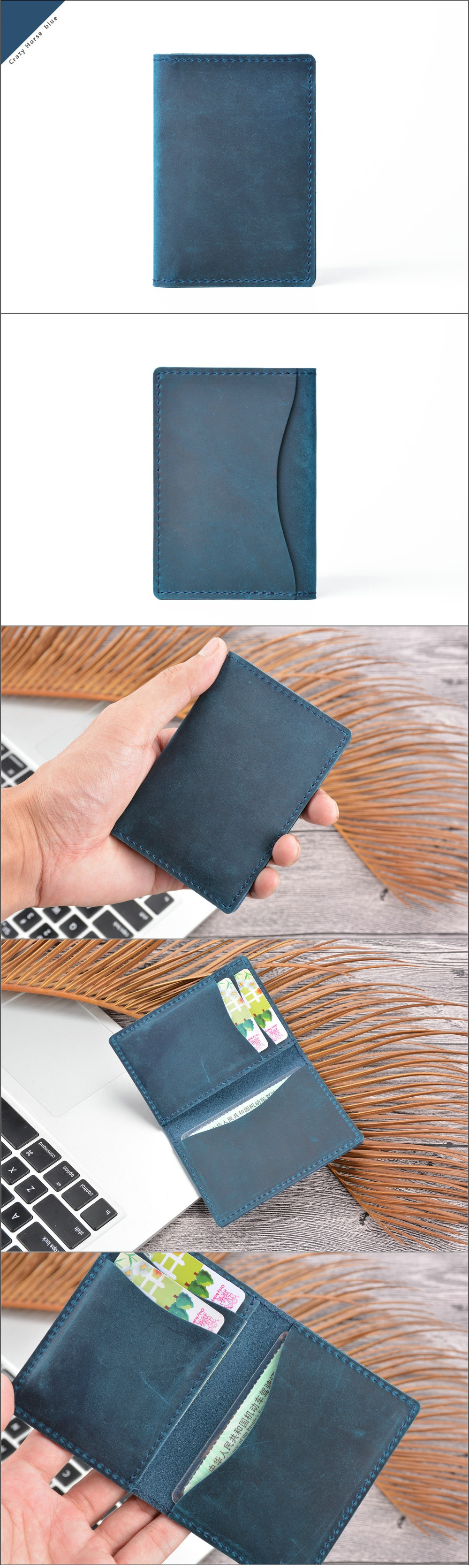 crazy horse leather card holder (12)