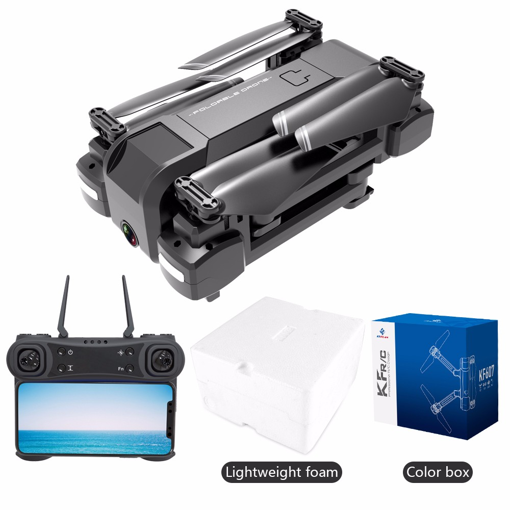 Drone KF607 WIFI FPV RC drone 4K kamera ultra HD dual kamera drohne headless modus one touch landung quadcopter drohne mit kamera - 6