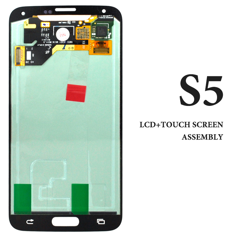 1PCS Hot selling 100% tested AMOLED lcd with touch screen for Samsung S5 G900 display without frame assembly1PCS Hot selling 100% tested AMOLED lcd with touch screen for Samsung S5 G900 display without frame assembly
