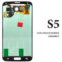 3PCS Hot Selling 100 Tested AMOLED Lcd With Touch Screen For Samsung S5 G900 Display Assembly