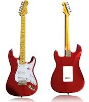 Орел. Бабочка электрогитара, электрический бас пользовательский магазин ST металлическая красная электрическая гитара может быть настроен