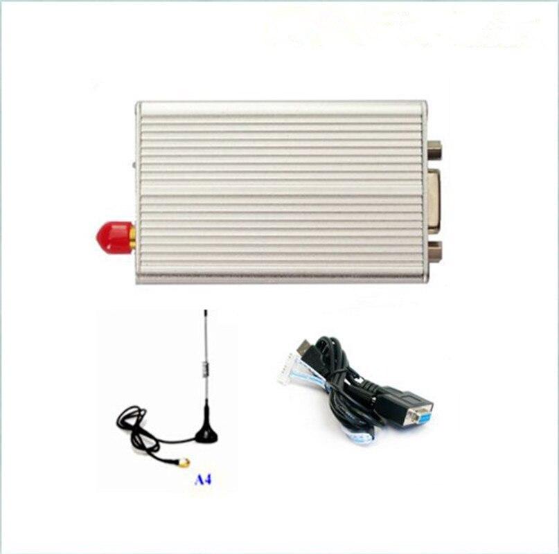 KYL-300I 2 키로메터-3 키로메터 433 백만헤르쯔 500 백만와트 무선 라디오 모뎀 DB9 커넥터 PC 및 무선 주도 보낸 고정 무선 터미널