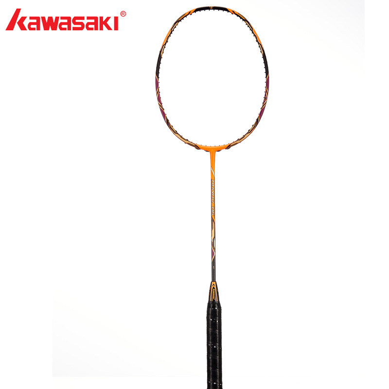 Kawasaki  Badminton Rackets Honor  H6 Offensive Type 30T High Modulus Graphite Racquet 3 Stars For Amateur Intermediate Players