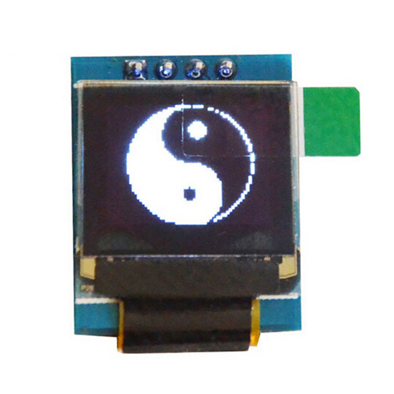 SSD1306 White 0.66 inch OLED Display Module 64x48 0.66 LCD Screen IIC I2C for Arduino AVR STM32 LCD Module