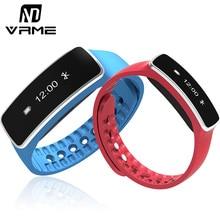 Vrme smartband умный браслет фитнес-трекер smart watch bluetooth 4.0 спорт браслет шагомер для смартфонов ios android