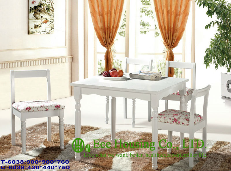 T-6038,C-6038  Luxurious Solid Dining Chair,Solid Wood Dinning Table Furniture With Chairs/Home Furniture