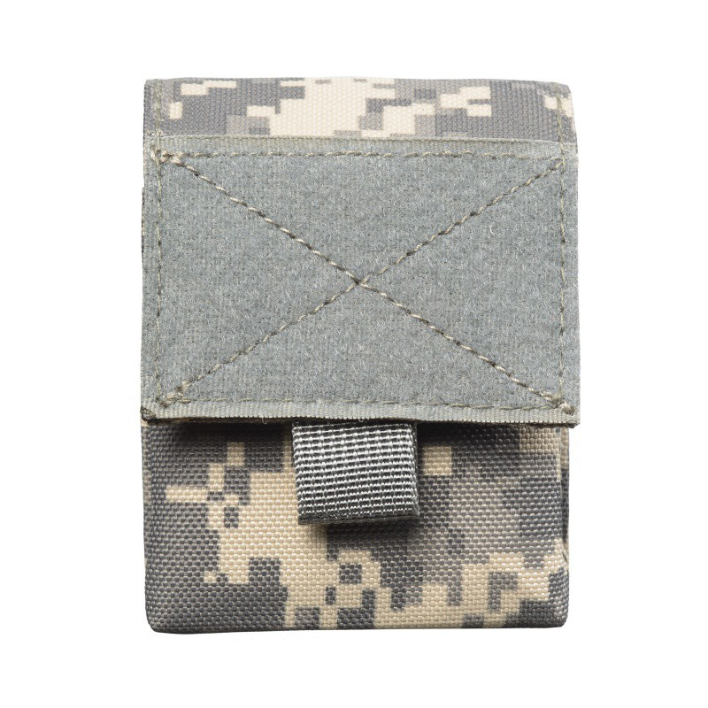 Image 5 - Outdoor Airsoft Combat Military Moole Pouch Tactical Single Pistol Magazine Pouch Flashlight Sheath Airsoft Hunting Camo Bags-in Pouches from Sports & Entertainment