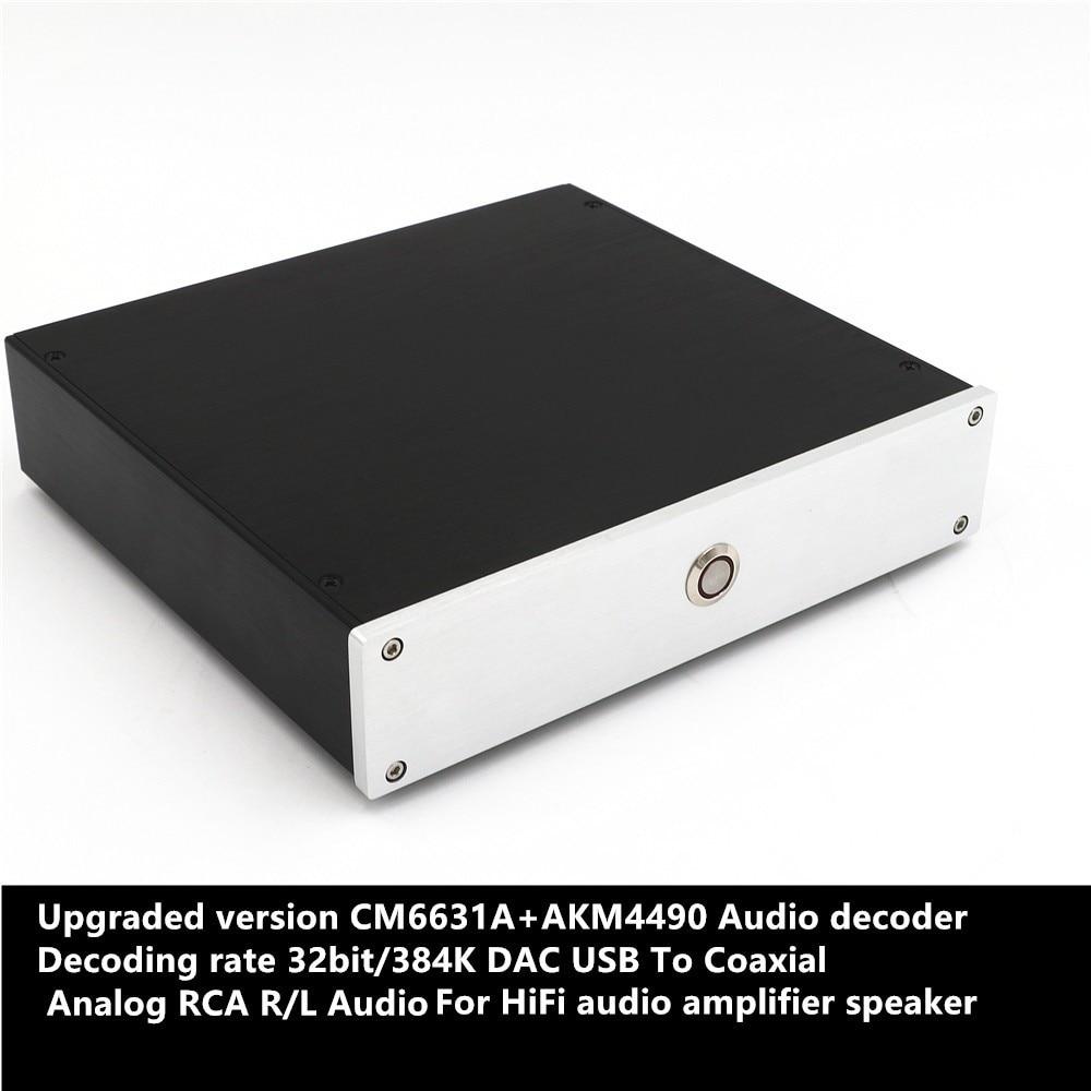 SMSL Sanskrit 10th HiFi Digital USB DAC Decoder AK4490 USB