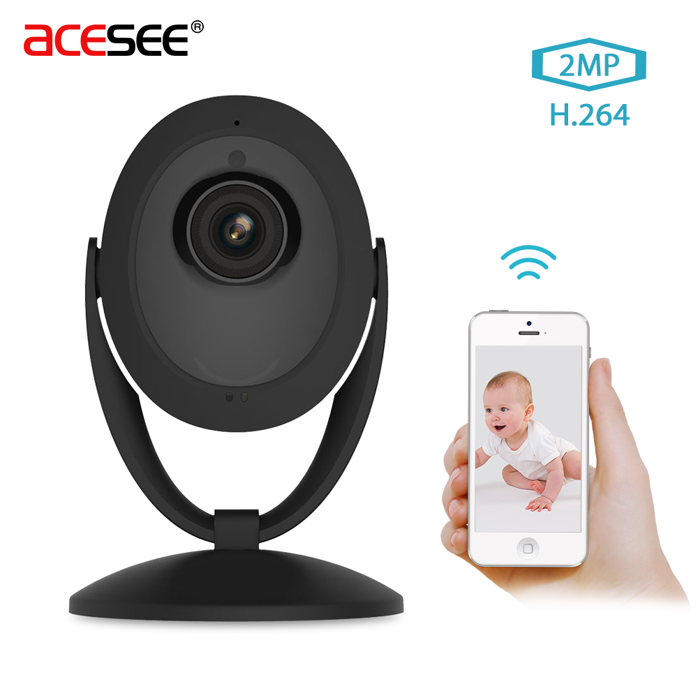Acesee Wifi IP Camera 1080P Smart Home Security Camera System Wireless Indoor Camera Nig ...