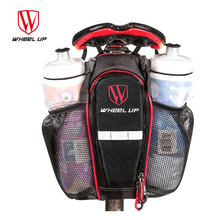WHEEL UP 2019 New Hot Sale 900D 2 Pockets Bike Bag Bicycle Seat Post MTB Road Mountain Rear Tail Pouch Bottle Bags