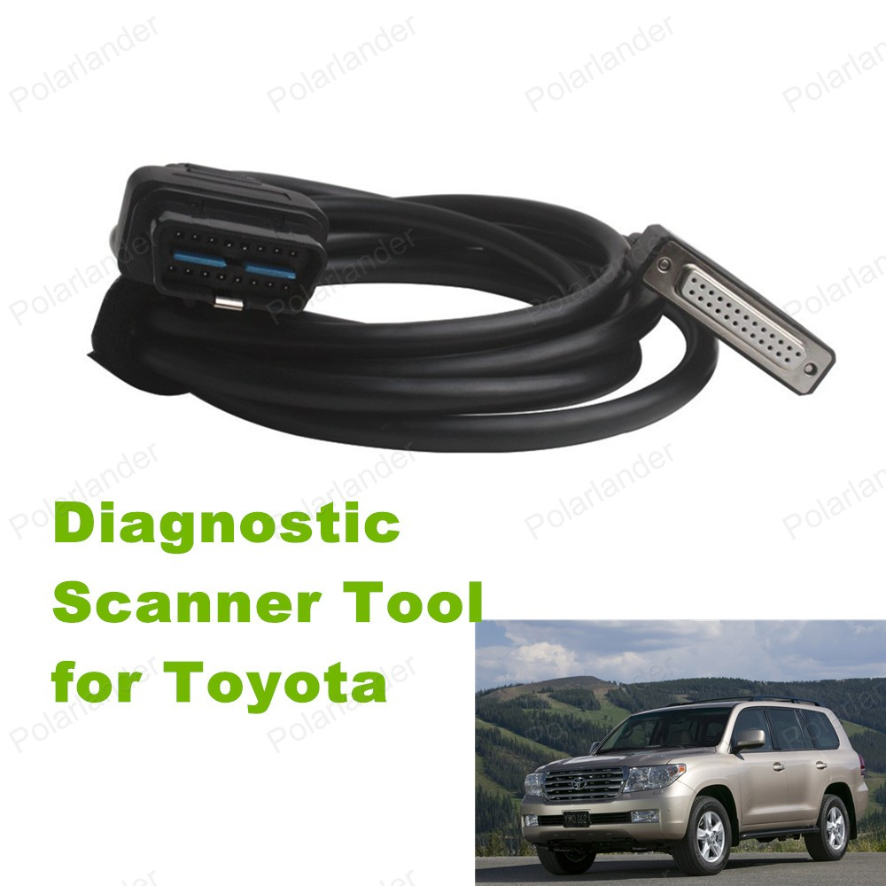 High Quality Main Test Cable Car Scanner Cable for Toyota Intelligent Tester IT2Car Diagnostic Cable