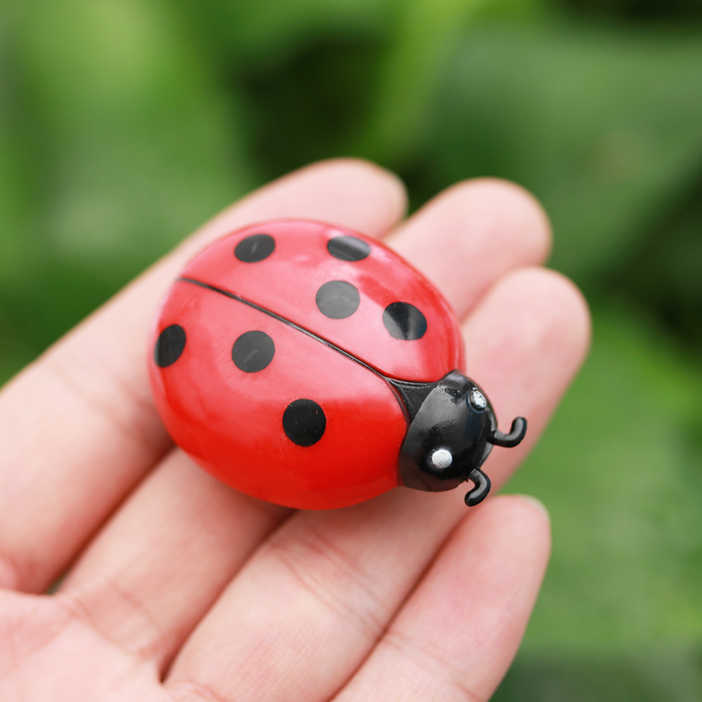 Funny Cat Interactive Toys Mini Pet Beetle Simulation Auto Electric Walking Insect Training Play Electronic Pet