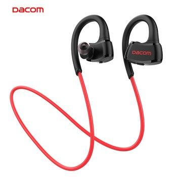 Dacom P10 IPX7 waterproof running ear headset stereo sport earphone wireless bluetooth headphone for phone consumer electronics