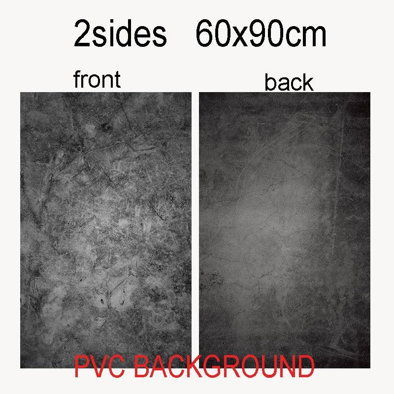 60X90 cm 2 seiten 24 farbe PVC Fotografie Kulissen Wasserdichte Premium Marmor Textur Hintergrund Für Foto Lebensmittel Schmuck mini Artikel