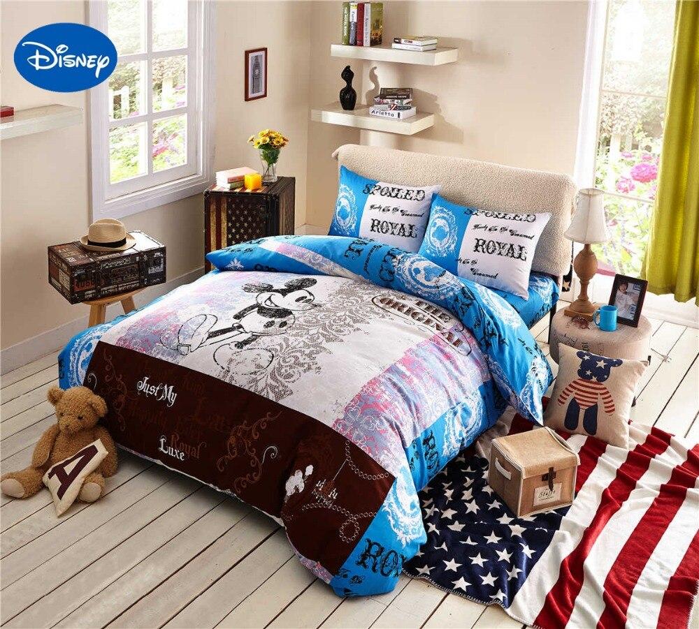 Cartoon Disney Print Bedding Set