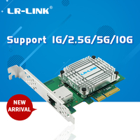 LR LINK LREC6880BT 10Gb gigabit ethernet card pci e express 4x single rj45 port server adapter network controller|Networking Storage| |  -