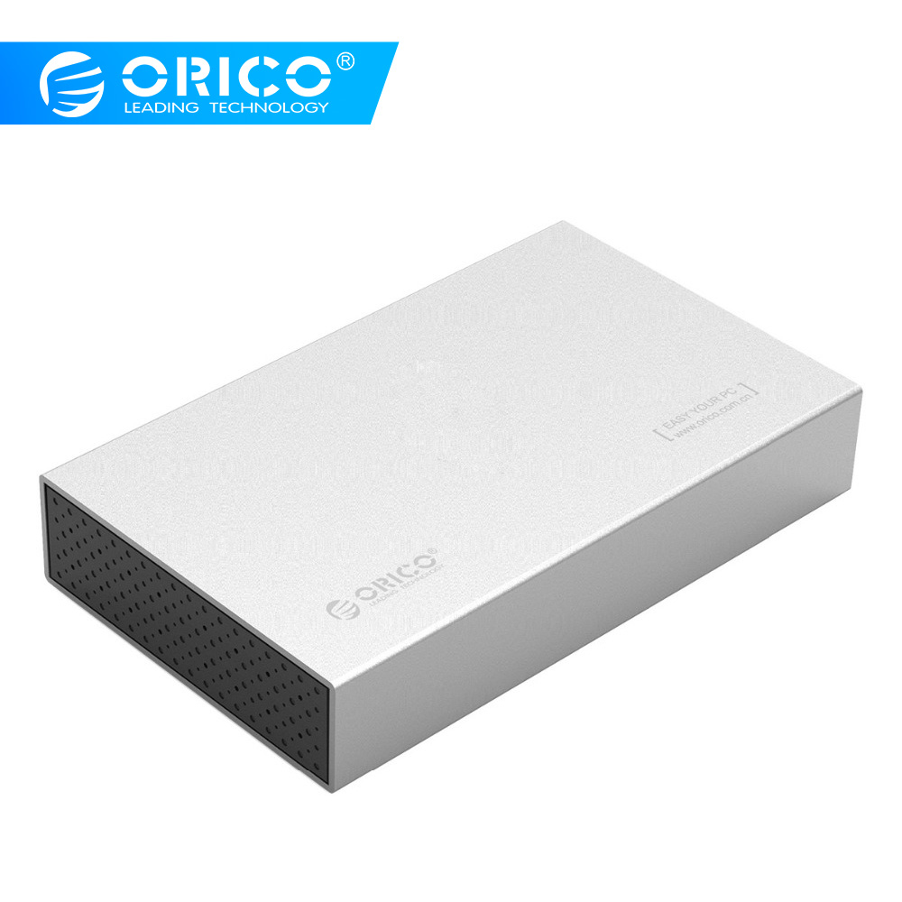 Orico hdd caso usb3.0 sata de alumínio para usb 3.0 tipo-b 3.5 polegada ssd/sata hdd gabinete de armazenamento