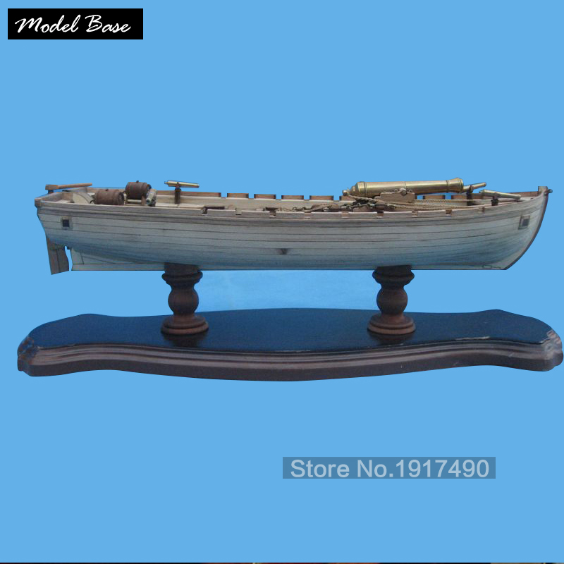 Wooden Ship Models Kits 3d Laser Cut Model-Wood-Boats Train Hobby Scale 1/36 Model-Ship-Assembly Diy 42 Ft Armed Longboats 1834 hasegawa model 1 350 scale models 40028