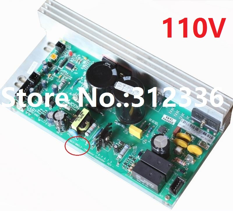 цена на Free Shipping 110V MC2100ELS 18W Motor Controller Control panel driver treadmill circuit board motherboard suit family treadmill