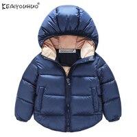 New Baby Boy Coat Children Outerwear Coat Fashion Boy Jacket Baby Girls Coat Warm Hooded Winter