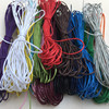 5meter Lot 1mm Suede Flat Leather Cord Bracelet Faux Velvet Cords Rope Thread String Necklace DIY