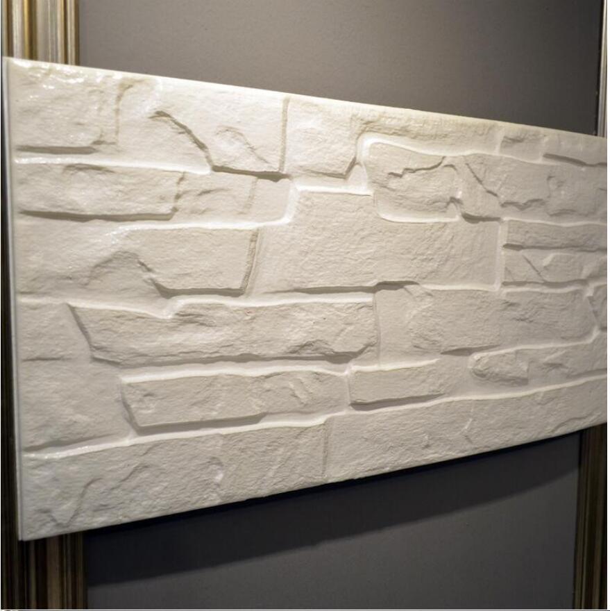3d PE brick stone wallpaper waterproof bathroom wall decor MOQ 1pc