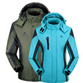 Winter men women jacket thermal coat for men Velvet Windbreaker male Down Parkas jackets Chaqueta Waterproof Windproof