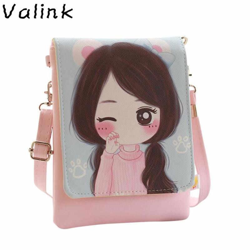 8b6435d3e05b Valink сумки на плечо Детские и мультфильм дети девочки мини сумка через  плечо кошельки для девочек