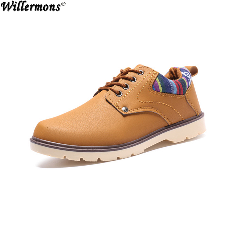 Spring Autumn Men s Vintage Fashion Casual PU Moccasin Leather Flats Shoes Men Retro Oxfords Shoes