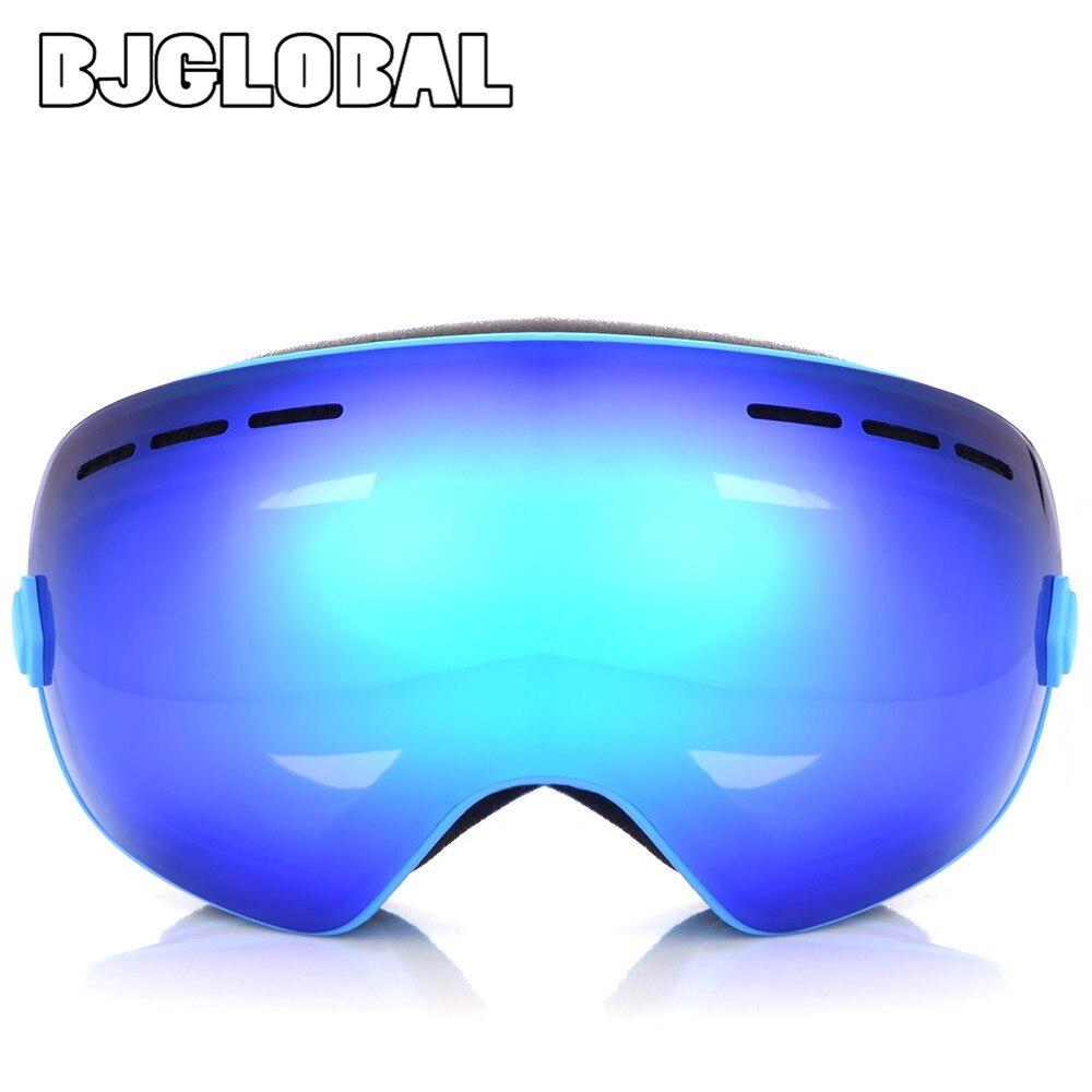 BJGLOBAL Motocross Ski Goggle Double Lens UV400 Anti fog Glasses Flexible Skiing Snow Snowboard Goggles Motorcycle Goggles|motorcycle goggles|goggles motorcycle|motorcycle glasses goggles - title=
