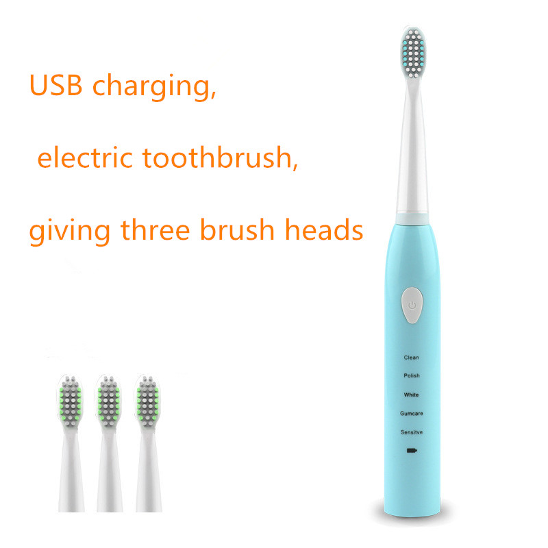 Sonic Electric Toothbrush Upgraded Adult Waterproof Ultrasonic Automatic Toothbrush USB Rechargeable Healthy Best Gift Home Use image