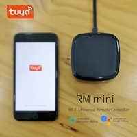 Rm mini Wifi IR télécommande, Hub, Tuya télécommande universelle AC, TV box commande vocale via Alexa, Google Home, IOS, Android